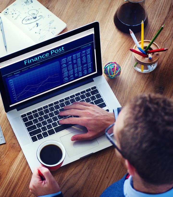 Image: Man using laptop